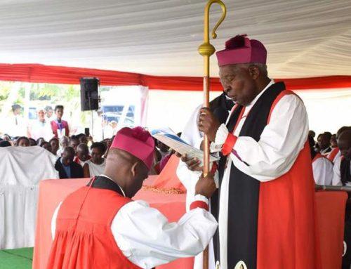 Enthroning a Bishop