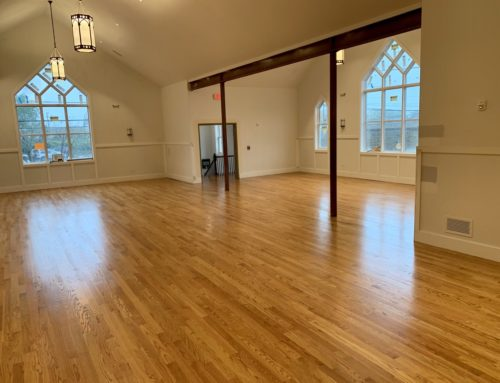 The Floors Are Stained!